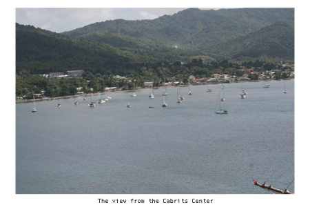 The view from Cabrits National Park, Portsmouth, Dominica
